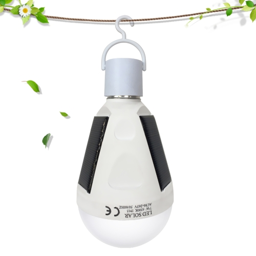 $2 OFF 7W SMD5730 Solar Powered Emergency LED Bulb,free shipping $6.79