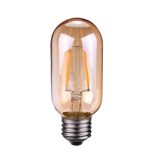 Buy Tomshine 2W T45 LED Filament Bulb Edison Style Light AC110-120V E26 Base Tawny Antique Vintage Retro Holiday Festival Decorations Warm White