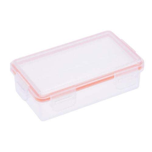 Buy Transparent Hard Plastic Waterproof Battery Protective Box Holder Storage Case 18650 (2-Pack) / CR123A uff084-Packuff09