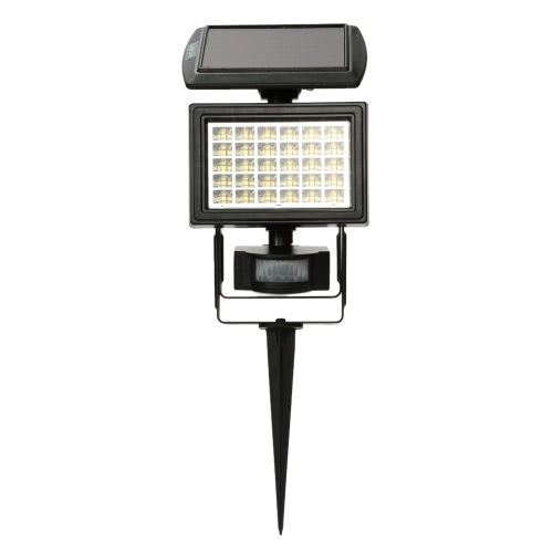 Buy 30LEDs Solar Powered Outdoor Security Floodlight PIR Motion Sensor Lawn Light Control Night Garden Yard Street Lamp White