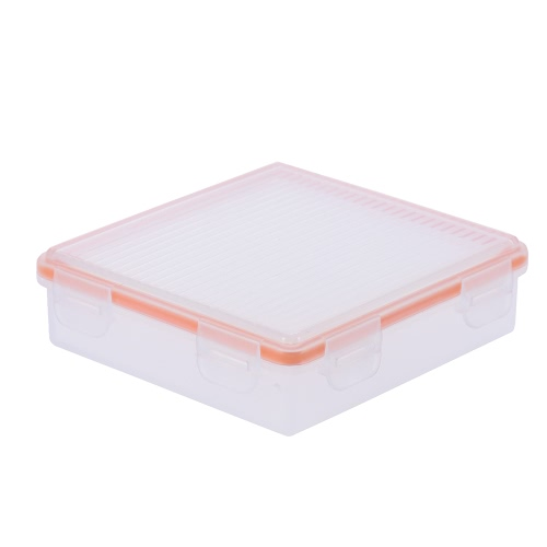 Transparent Hard Plastic Waterproof Battery Protective Box Holder Storage Case for 18650 Battery (4-Pack) / CR123A Battery ��8-Pack��