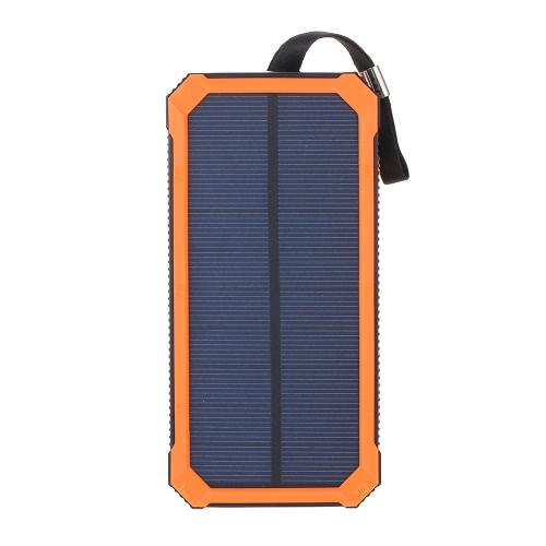 Portable 5000mAh Solar Power Bank Charger