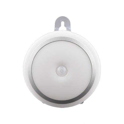 Buy Universal PIR Human Body Infrared Motion Sensor Night Light LED Control Indoor Lighting Corridor Energy Saving Cabinet Small Size Portable Sticker Battery Power Automatic Bathroom Hung Lamp