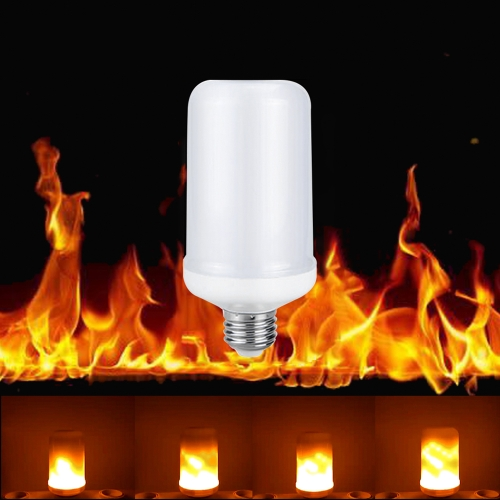 LED E27 SMD2835 Flame Flickering Effect Light Bulb,limited offer $7.99