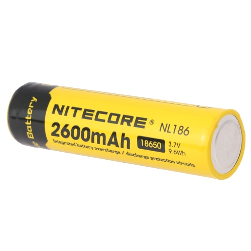 Buy NITECORE 18650 Rechargeable Battery 2600mAh 3.7V High Capacity LED Flashlight Torch Lamp Headlight Headlamp PCB