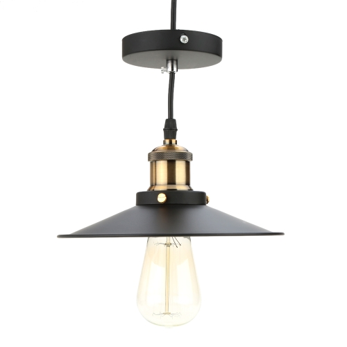 Lixada Stainless Steel Retro Vintage Pendant Light Countryside Lamp E27 for Living Hall Ceiling with 1.2m Wire от Tomtop.com INT