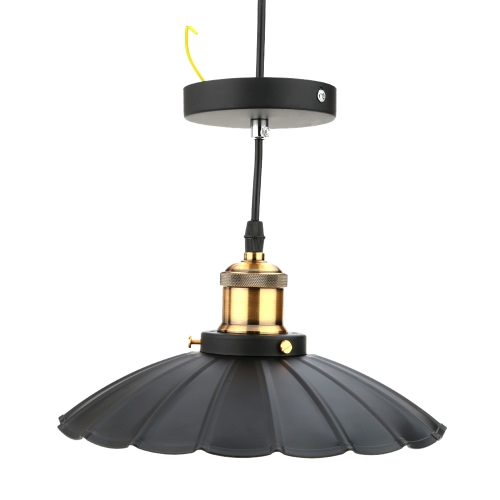 Lixada Retro Vintage Pendant Light Countryside Antique Lamp E27 the Lotus Shape for Parlor Bedroom Living Hall Ceiling with 1.2m Wire от Tomtop.com INT