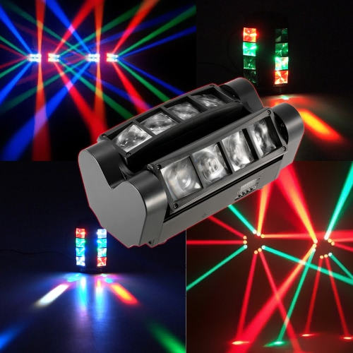 90W RGBW LED DMX512 Sound Activated Mini Stage Light,limited offer $58.99