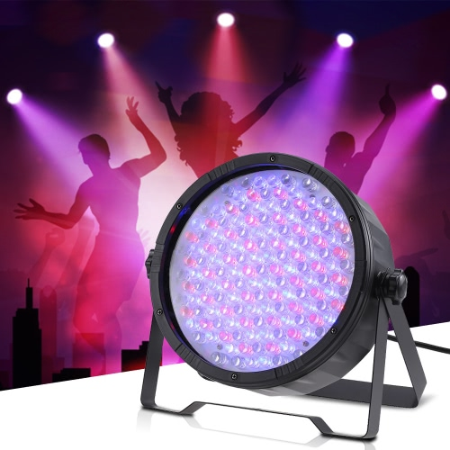 Buy 25W 151LEDs 7 Channels RGB DMX512 Dimming Wash Effect PAR Stage Light Sound Activation Master Slave Strobe Auto Run Disco KTV Club Party