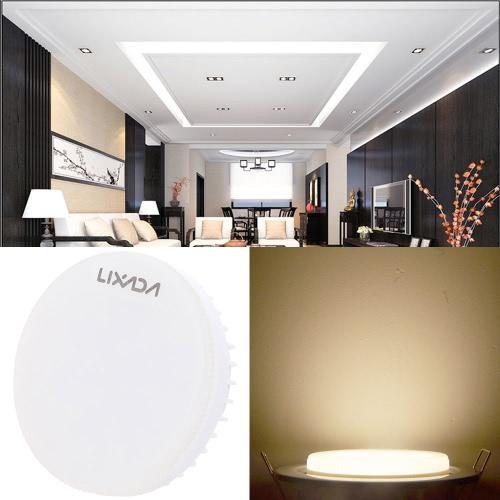 Lixada GX53 Bulb 7W 24 SMD2835 Epistar LEDs 600LM Decorative LED Spotlight White от Tomtop.com INT