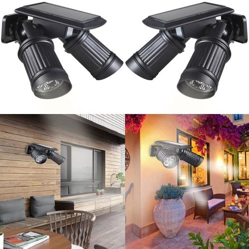Buy Lixada Solar Wireless Human Motion PIR Sensor 14 LEDs 150LM Landscape Spotlight Lamp Convenient Light Fixture Attics Bedroom Pathway Stairway Garage White