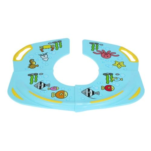 Karibu Kids Toddlers Home Travel Folding Potty Seat for Standard Toilets