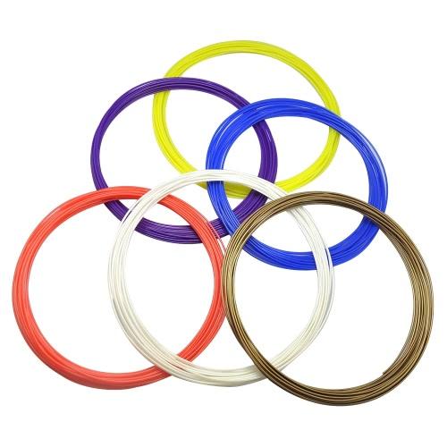 Buy 3D Pen PCL Filament Low Temperature Printing Refill 1.75mm Recyclable Environmentally Friendly Dewang DW-X4-2.0 Pen, 5m/16.4ft each, 1(10 Random Colors)
