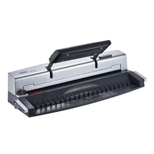 Buy DSB CB-60 A4 Paper Puncher + Binder Punch Binding Machine School Office Supply, 21 Holes, 8 sheets Punching, 95