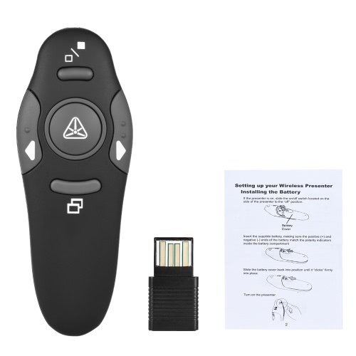 2.4GHz USB Powerpoint Presentation PPT Flip Pen Pointer,limited offer $5.49