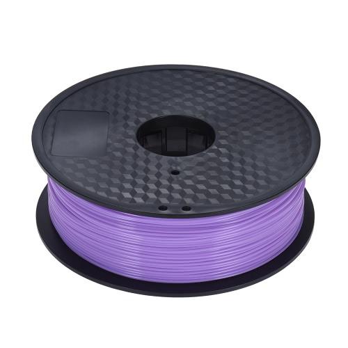 Color Optional PLA Filament 1kg-Roll 2.2lb 1.75mm for MakerBot Anet RepRap 3D Printer Pen Purple