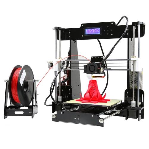 Anet A8 Imprimante 3D de bureau haute prcision amliore au