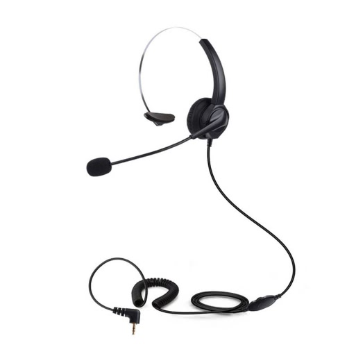 Buy VH530 Professional Telephone Headset Clear Voice Noise Cancellation Customer Service Wired Head-mounted Headphone 2.5mm Earphone Jack Call Center Digital