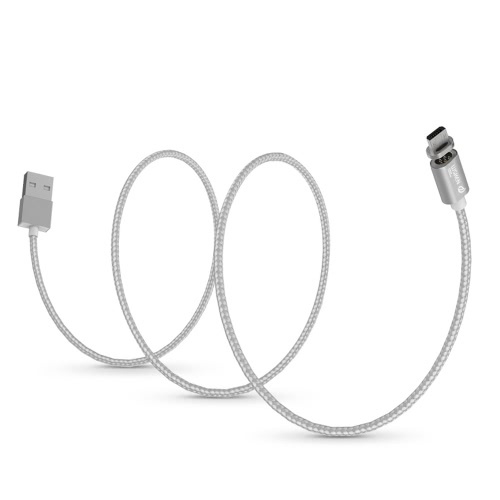 Original WSKEN X-Cable Mini 1 Metal Magnetic Micro USB Charging Cable USB 2.0 Intelligent Data Sync Charger Cord Quick Charging Anti-dust Plug Samsung S7 S6 Edge HTC Motorola Nokia Xiaomi Android Smartphones Tablets