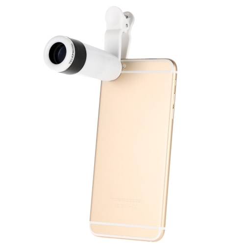Buy Universal 8X Zoom Phone Telephoto Camera Lens Clip iPhone Samsung HTC Photography