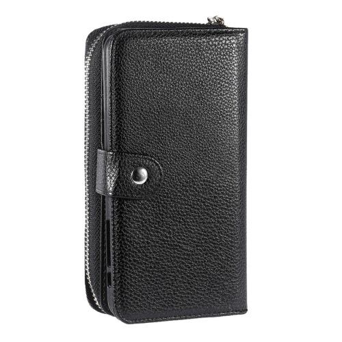 Buy KKmoon 2 1 Zipper Wallet Phone Case Cover PU Leather Protective Shell Detachable Folio Flip Holster Carrying Card Holder iPhone 6 Plus 6S 5.5inch