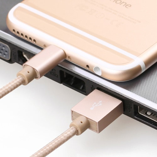 Buy [Apple MFi Certified] Yellowknife 3.3ft/1.0m Portable Tough Nylon Braided 8pin Lightning USB Charging Data Cable Charge Sync Cord iPhone 6S Plus 6 5S 5 iPad mini mini2 mini3 Air 2 iPod touch (5Generation) nano
