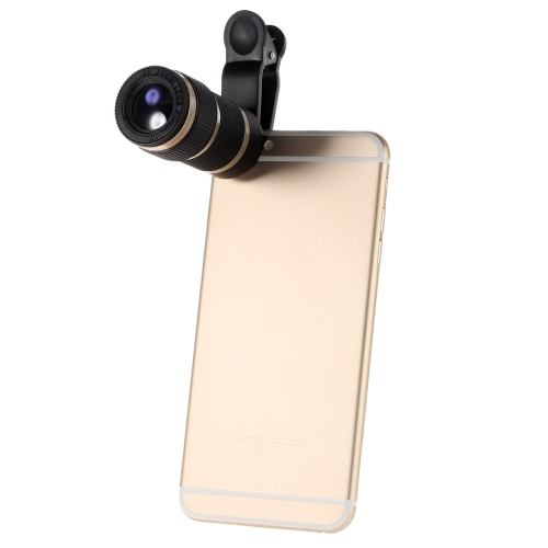 Buy 8X Zoom Phone Telephoto Camera Lens Clip Universal iPhone Samsung HTC Smart Photography Accessory