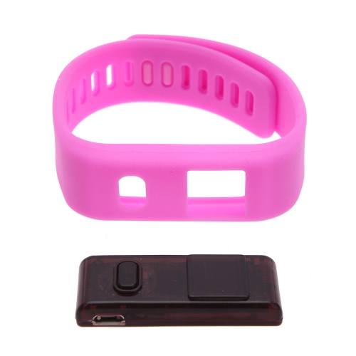 Bluetooth BT4.1 Sports Smart Bracelet for Smartphone Pedometer Sleep Monitor Call Remind for Android 4.3 IOS 6.0 Above Smartphone от Tomtop.com INT