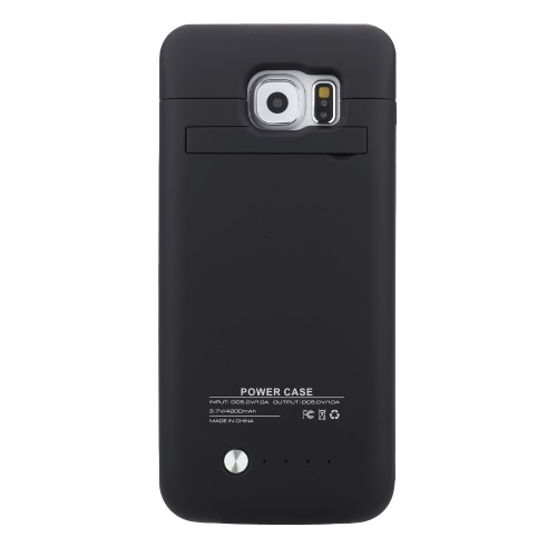 Rechargeable External Backup Battery case Power Case 4200mAH for Samsung S6 от Tomtop.com INT