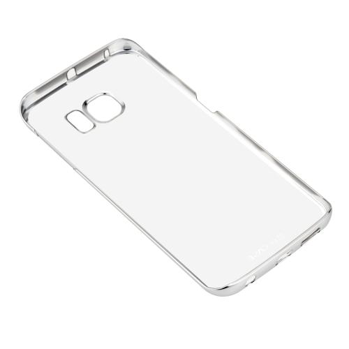 Buy G-CASE Fashion Luxury Bright Bling Transparent Back Case Metal Frame Samsung Galaxy S6 edge