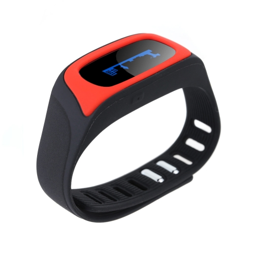 SWB02 Bluetooth BT4.0 Sports Bracelet OLED Display Screen for iPhone 6 6 Plus Samsung S6 S6 Edge Android 4.3 Above Bluetooth 4.0 Smartphone Pedometer Sleep Monitor Remote Camera Smart Alarm Remind Features Anti-lost от Tomtop.com INT