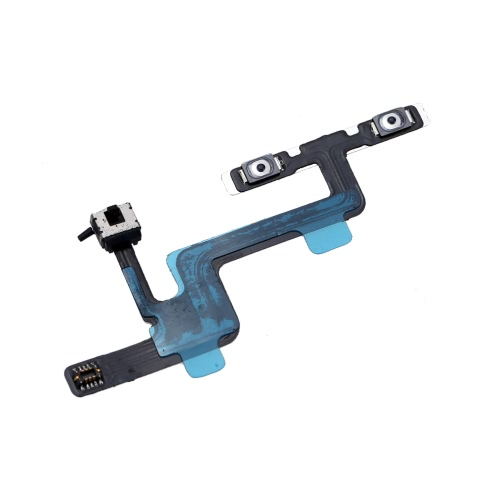 Volume Button Repair Fix Replace Replacement Parts with Mute Silent Vibrator Flex Cable for iPhone 6 4.7
