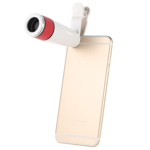 Buy 12X Zoom Phone Universal Telephoto Camera Lens Clip iPhone Samsung HTC Photography Accessory