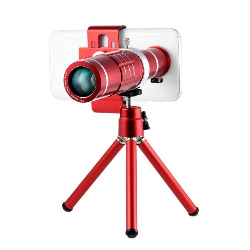 Buy Universal 18X Zoom Phone Telephoto Camera Lens Mini Tripod iPhone Samsung HTC Photography Accessory