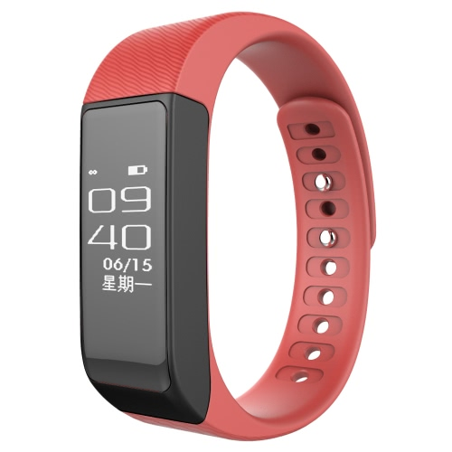 Buy iwownfit i5 Pro Smart Band Bracelet iPhone 6 Plus 6S Android 4.3 iOS 8.0 Bluetooth 4.0 Smartphone Read Screen Sports Reminder Sleep Monitor Searching Phone Message Notification Remote Camera Control