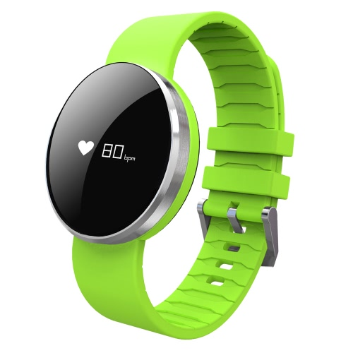 Buy Uwatch UW1 Smart Bracelet 0.66inch OLED Screen Display 64*48px NRF51822 CPU Chip BLE4.0 110mAh Battery Intelligent Sports Band Pedometer Calories Heart Rate Sleep Monitor Call Reminder Wrist iPhone 7 6S Plus Samsung S6 S7 Smartphones iOS Android Devices