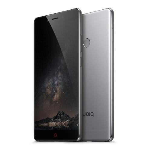 Buy nubia Z11 Edgeless Smartphone 4G LTE 3G WCDMA Qualcomm Snapdragon 820 64-bit Quad Core 5.5 Inches 2.5D Arc FHD 1920*1080 Pixels Screen UI OS 4GB RAM+64GB ROM 8MP+16MP Dual Cameras 0.1s Fingerprint Unlock Quick Charge 3.0 Type C OTG NFC Dual-band WiFi Spit-screen Metal Body HiFi Dolby