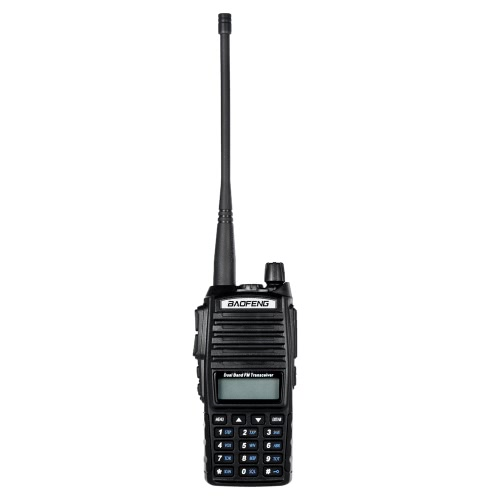 Buy Original BAOFENG UV-82 VHF/UHF Dual Band Handheld Transceiver Interphone LCD FM Radio Receiver 5W 128 Memory Channels CB PTT Launch Key DTMF Encode Emergency Alarm Voice Broadcast VOX Function Battery Save LED Flashlight Walkie Talkie