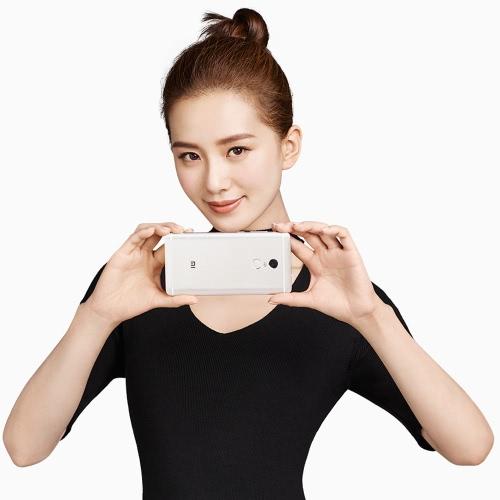 "Xiaomi Redmi Note 4 Smartphone 4G-LTE MTK Helio X20 2.1GHz 64-bit Deca Core 5.5"" 2.5D FHD 1920*1080 IPS 3G+64G 5MP 13MP Dual Cameras Fingerprint Metal Body Ultrathin WiFi 4100mAh WiFi от Tomtop.com INT"