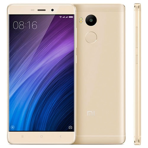 Xiaomi Mi Redmi 4 Smartphone 4G LTE Phone 5.0inch HD Screen 1280*720pixel Snapdragon 430 Octa-core 1.4GHz Processor 2GB RAM 16GB ROM MIUI 8 OS 13.0MP+5.0MP Cameras 4100mAh Battery Dual Sim Fingerprint GPS WiFi Cellphone от Tomtop.com INT