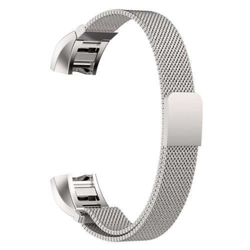 High Quality Genuine Mesh Stainless Steel Bracelet Watch Band Strap Replacement Milanese Magnetic Loop Customized Band for Fitbit Alta Smart Watch