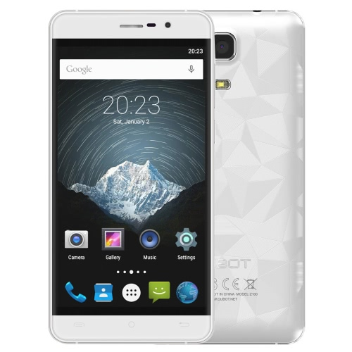 Buy CUBOT Z100 PRO 4G FDD-LTE Smartphone 5.0inch IPS Capacitive Touch Screen 1280*720pixels Metal Frame MTK6735 Quad-Core 1.0GHz CPU Android 5.1 OS 3GB RAM 16GB ROM 5.0MP+13.0MP Dual Camera 2450mAh Battery Sim Card OTG Bluetooth WiFi GPS