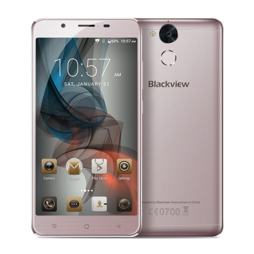 Blackview P2 4G Smartphone 5.5inch 6000mAh 4GB RAM 64GB ROM от Tomtop.com INT