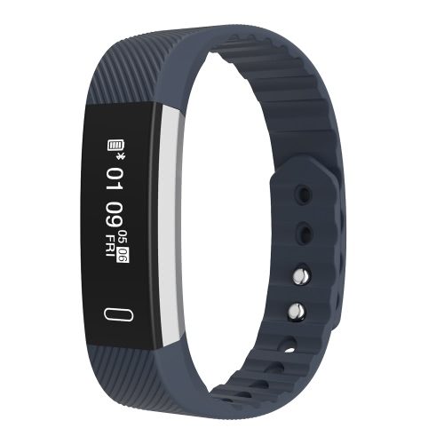 Micro-K Plus Smart Band Bluetooth Sport Watch Wristband Bracelet 0.86inch HD OLED Display Heart Rate Pedometer Sleep Monitor Distance Hand Raise Light Up Remote Camera Call Message Alert for iPhone 6 6S 6 Plus 6S Plus 7 Plus Samsung S6 S7 edge S8 Android