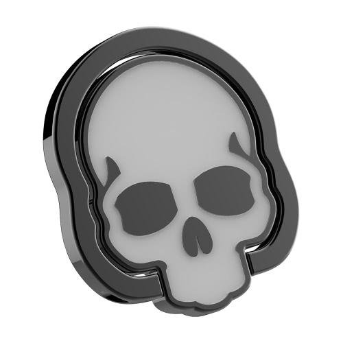 Buy Universal Cell Phone Finger Ring Holder Skull Skeleton Design 360u00b0 Rotation Stand Grip Kickstand Magnetic Suction Car Mount Tablets Smartphones