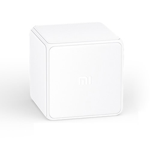 Original Xiaomi Mi Cube Controller Zigbee Version Controlled by 6 Actions Compatible with Xiaomi Multifunction Gateway Work with Phone App for Smart Home Device TV Smart Socket