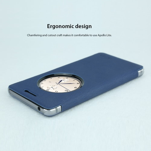 Vernee Mars 5.5 Inches Protective Cover Case Shell with Time Window Eco-friendly Material Stylish Portable Ultrathin Anti-scratch Anti-dust Durable