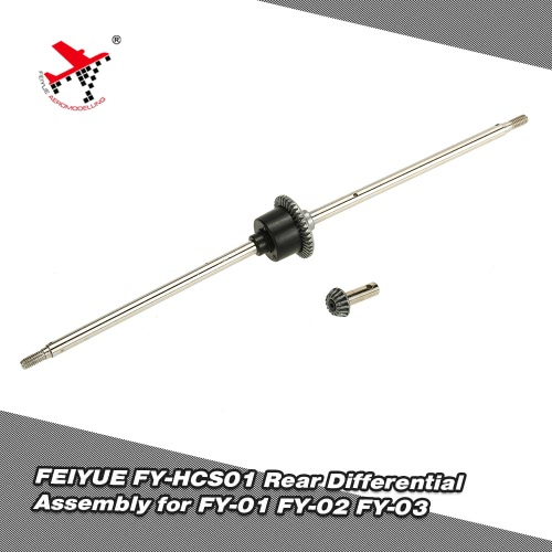 Buy FEIYUE FY-HCS01 Rear Differential Assembly 1/12 FY-01 FY-02 FY-03 RC Car Spare Parts