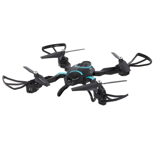 Buy QI ZHI TOYS QZ-S8 2.4G 6 Axis Gyro 3D Flip Foldable Headless Altitude Hold RC Quadcopter