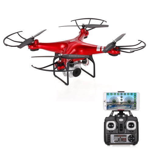 Buy Original HR SH5HD 2.4G 4CH 1080P Camera Wifi FPV Drone Height Hold Headless Mode One Key Return RC Quadcopter